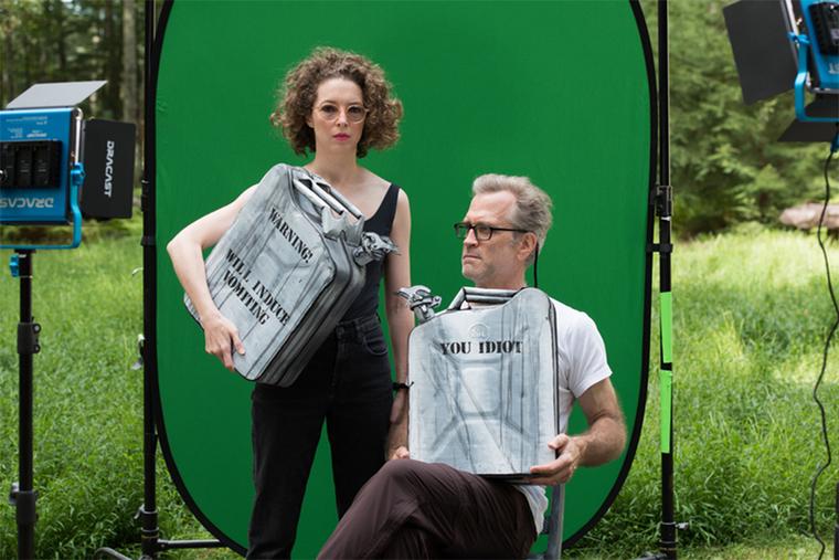 Mary Reid Kelley and Patrick Kelley