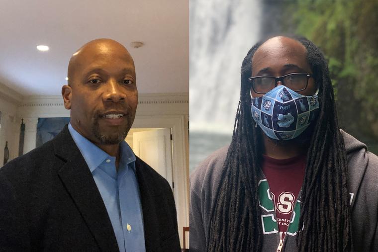 Portrait of Lance Freeman and Jamaal Green