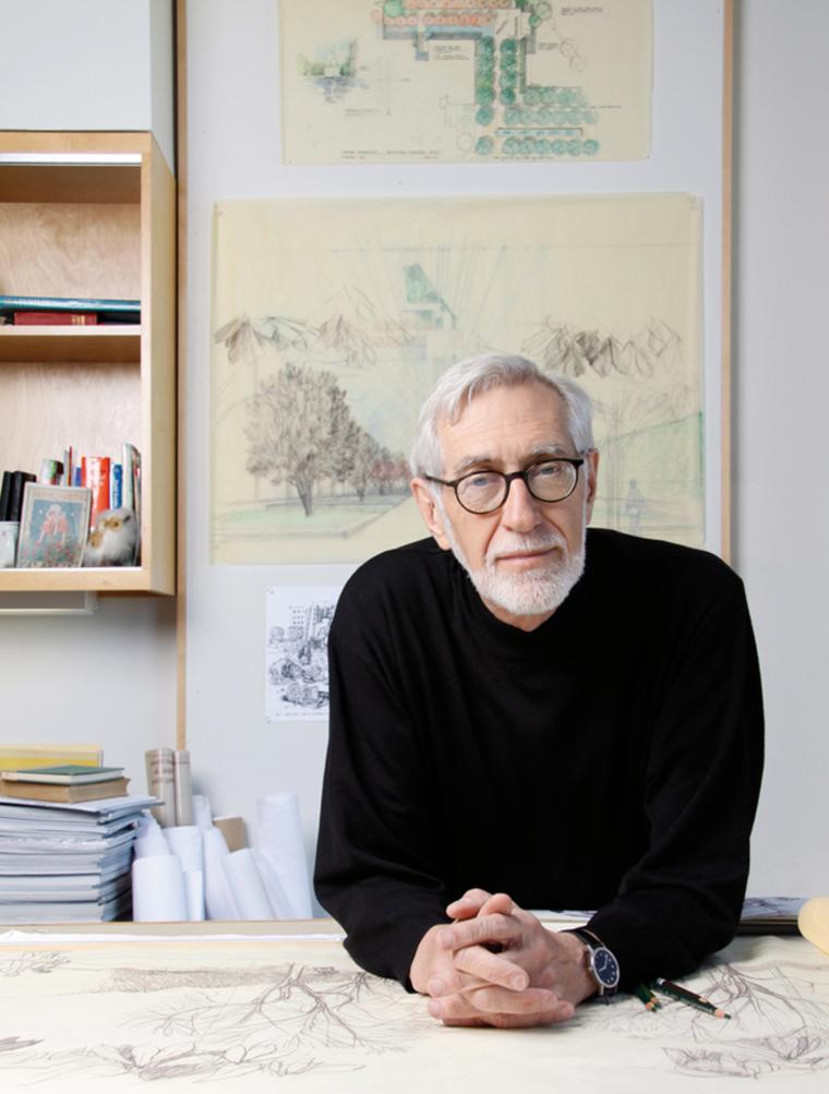 Laurie Olin, Practice Professor Emeritus in Landscape Architecture