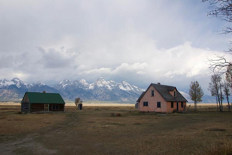 John Moulton Homestead in Jackson Hole, Wyoming