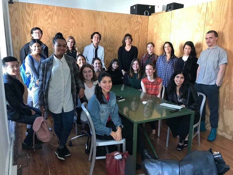 The members of Penn Women in Design