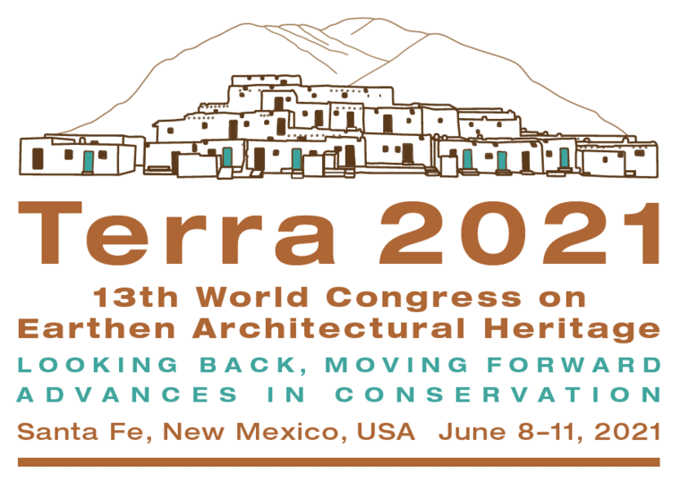 Terra 2021 earthen architecture world congress Santa Fe, New Mexico june 8-11 2021