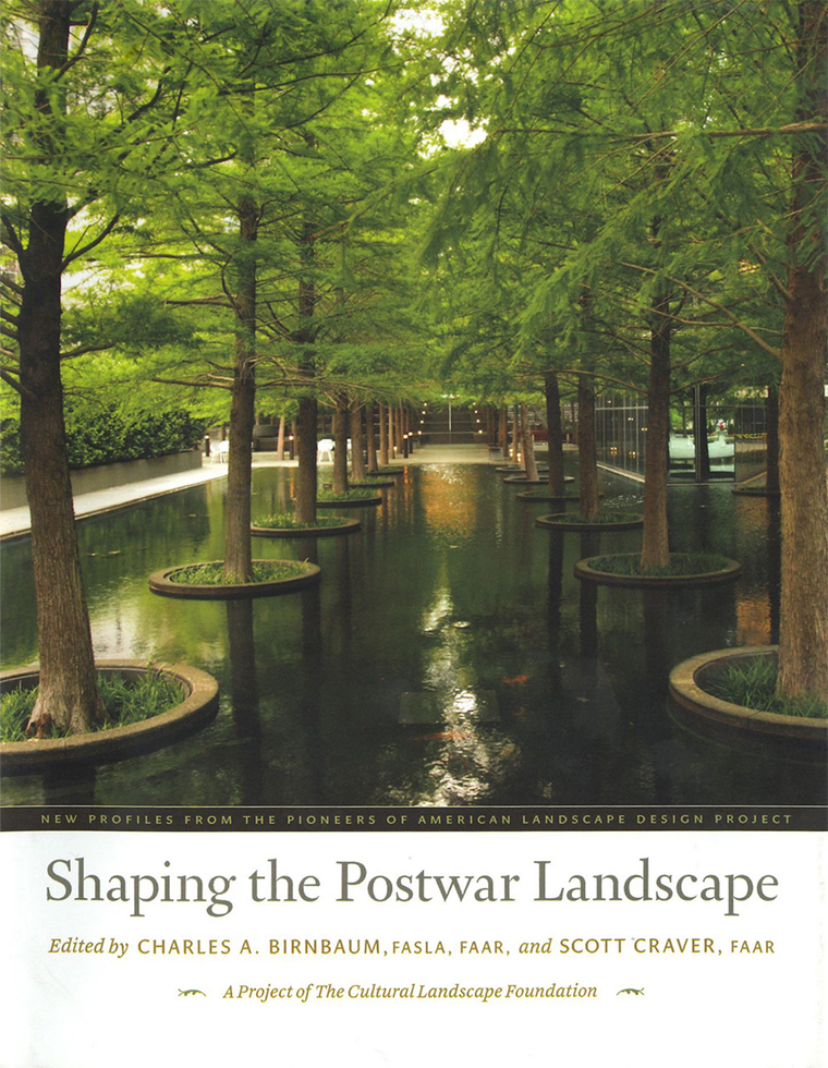 """Cover of """"Shaping the Postwar Landscape"""""""