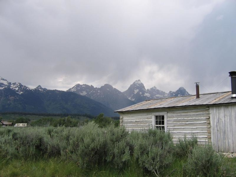 Bill Menors Cabin, Grand Teton National Park, Photo: National Park Service