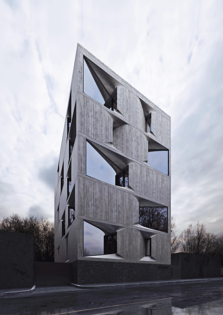 DL 1310 Apartments (Mexico City) by Young & Ayata with Michan Architecture
