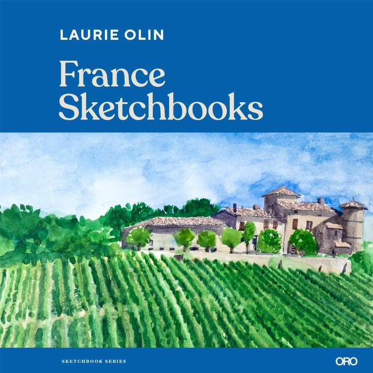 Laurie Olin, France Sketchbooks Book Cover