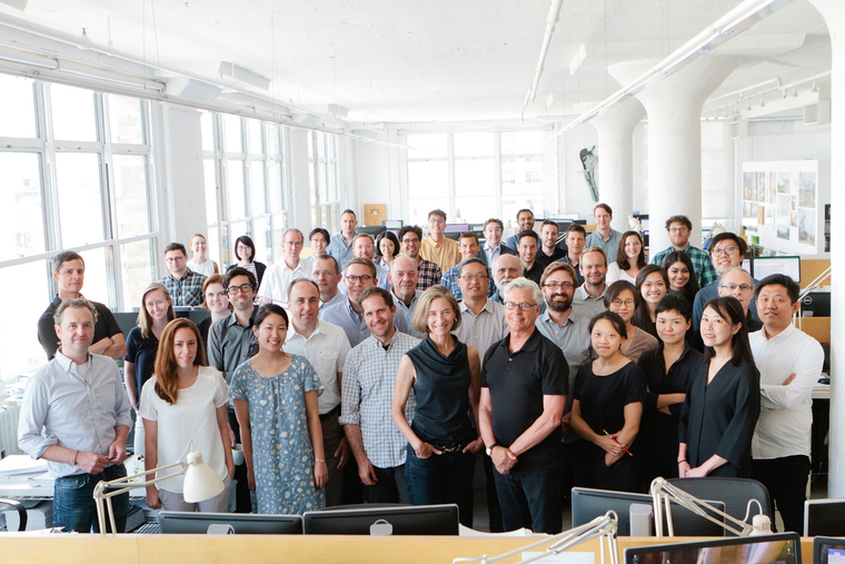 The Weiss/Manfredi team, 2018 National Design Award Winners for Architecture