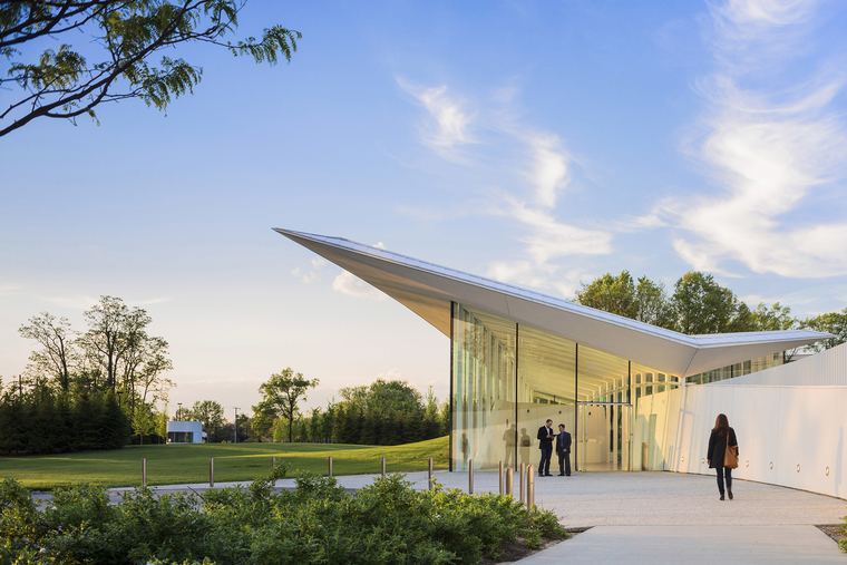 WEISS/MANFREDI, Novartis Visitor Reception Building