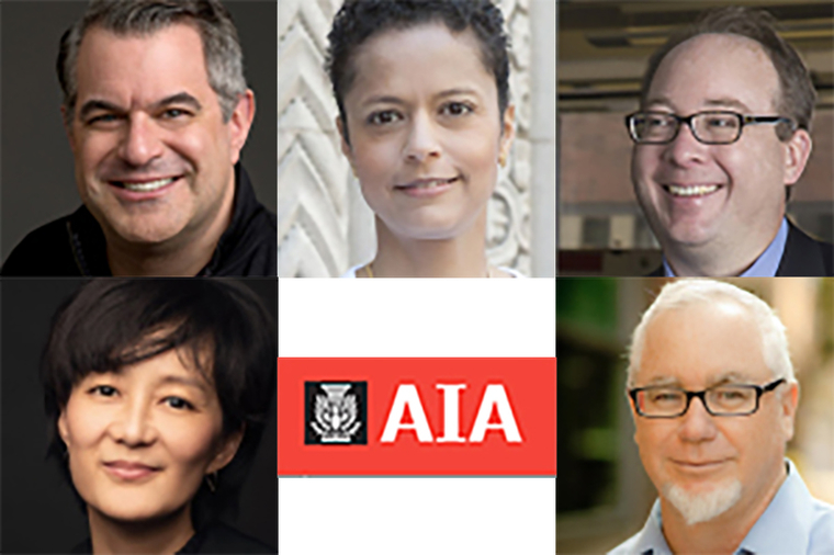 The 2019 Jury of Fellows from the American Institute of Architects (AIA)