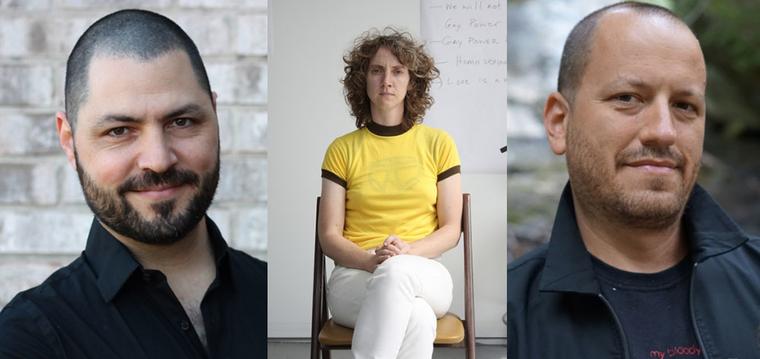 Eric Bellin, Sharon Hayes, and Ben Krone