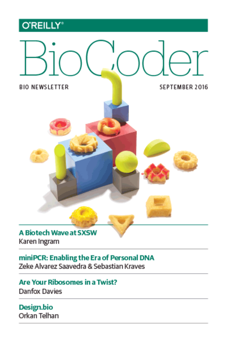 "Cover of ""BioCoder"" September 2016 edition"