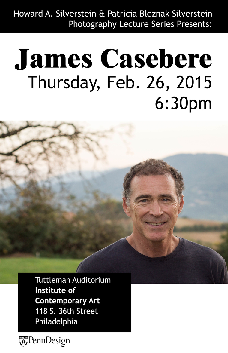 James Casebere, Thursday January 16, 2015 6:30