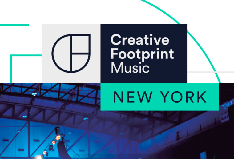"Cover of ""Creative Footprint Music, New York"""