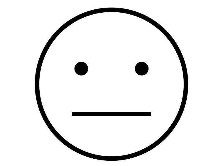 Neutral Emoji