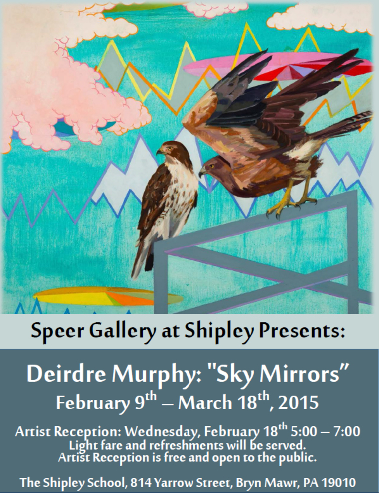 Speer Gallery at Shipley Presents: Deirdre Murphy: Sky Mirrors