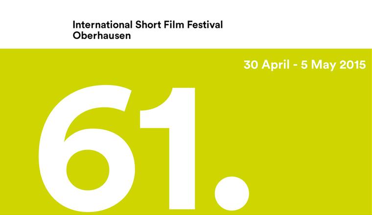 Sign for the Oberhausen International Short Film Festival.