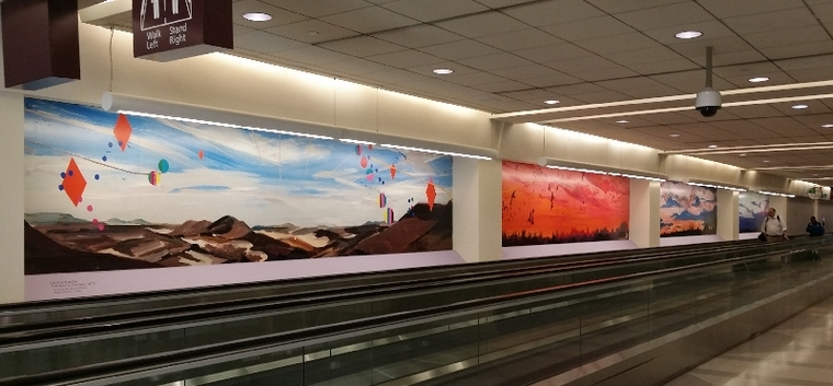 Deirdre Murphy Paintings Displayed at PHL Airport