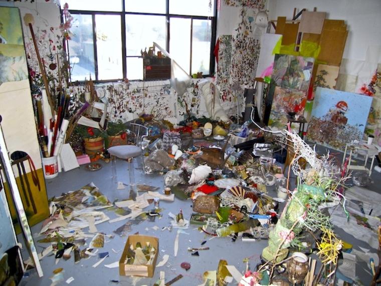 Cluttered Studio