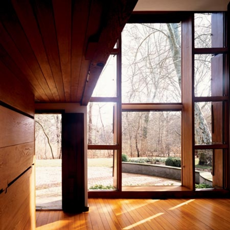 Louis Kahn, Esherick House, Chestnut Hill, Pennsylvania, 1959 - 1961. Photo Todd Eberle, via Dezeen.
