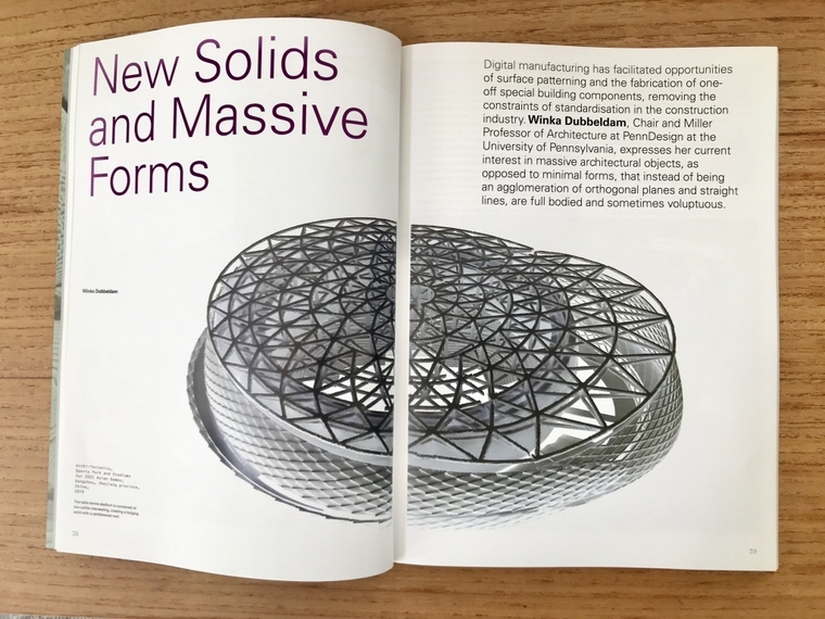 "Winka's article titled ""New Solids and Massive Forms"""