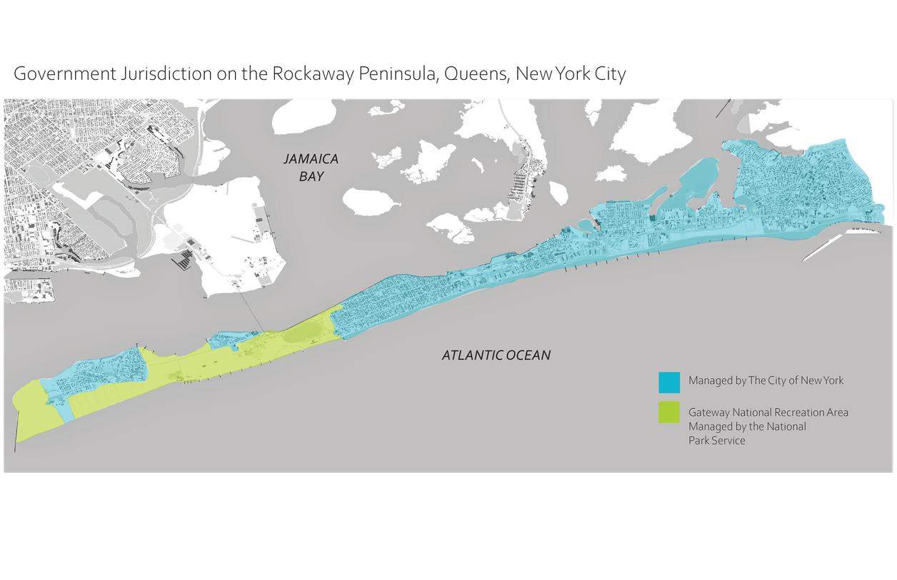 Map of Rockaway