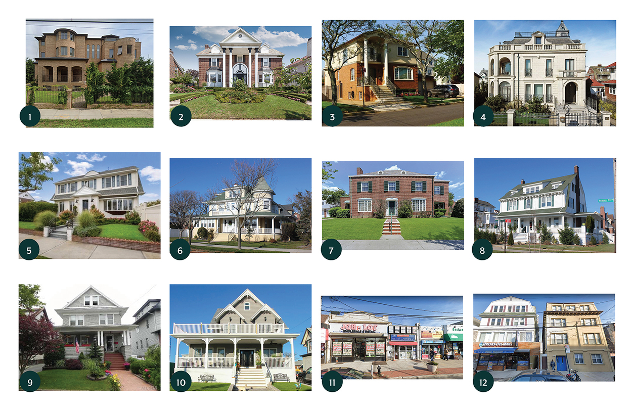 Thumbnail images of houses in Rockaway