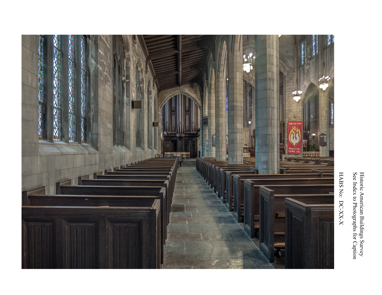 Interior of an old church