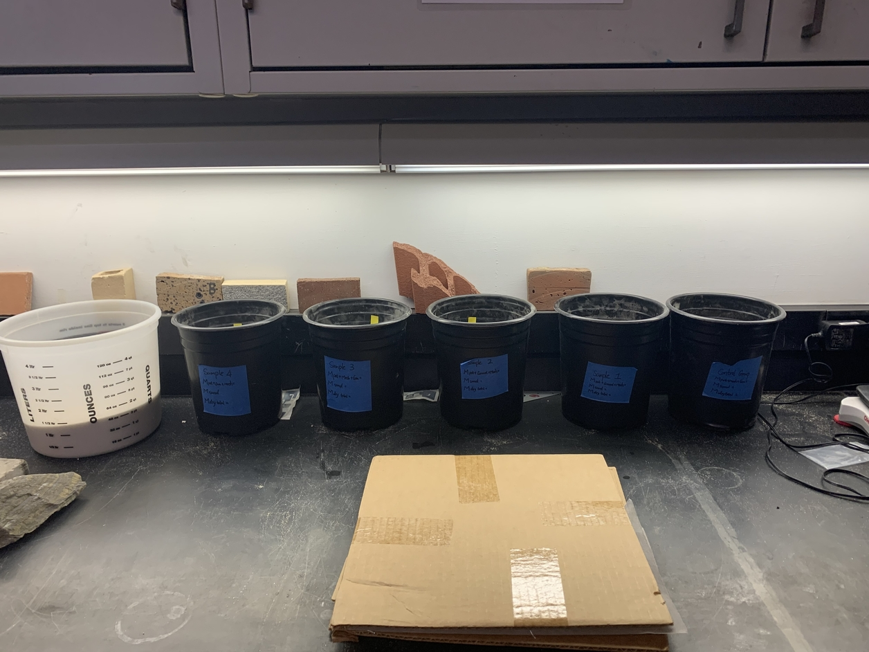 Testing samples in buckets