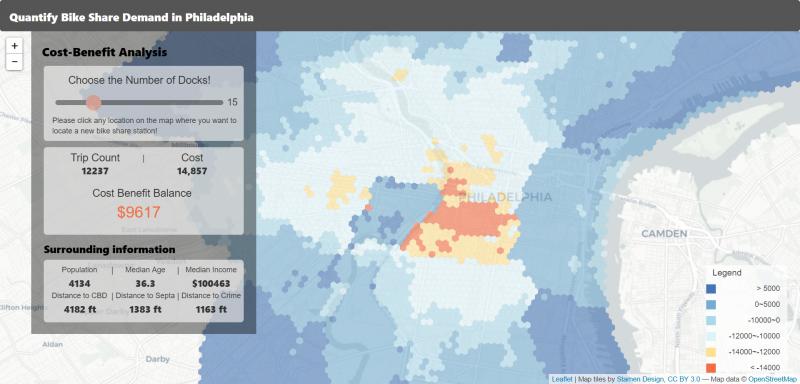 Master of Urban Spatial Analytics | Weitzman School